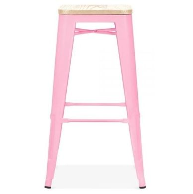 Xavier Pink Designer High Stool