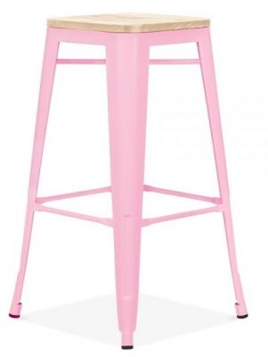 Xavier Pink High Stool