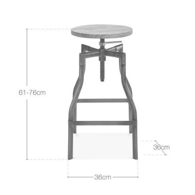 Dimensions Valdemar High Stool