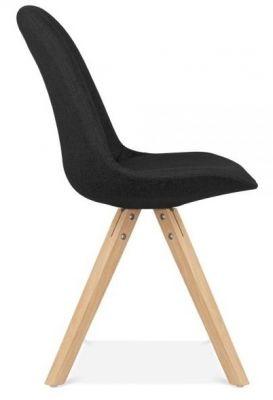 Pascoe Designer Chair Black Side Vieew
