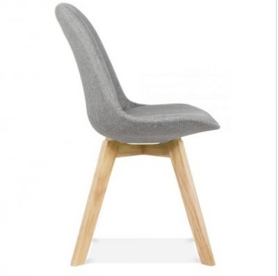 Grey Fabric Chair Aquilo