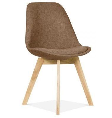 Brown Fabric Aquilo Designer Chair