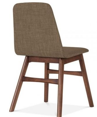 Fortune Brown Designer Dining Chair