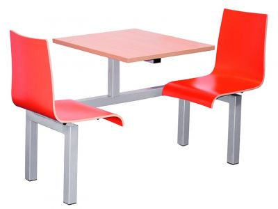 Rio Designer Fast Food Seating Two Seater