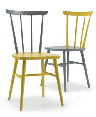 BURNELL CLASSIC DINING CHAIR - COLOUR FINISHES