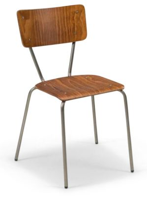 MELO INDUSTRIAL LOOK SIDE CHAIR