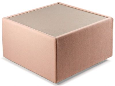 ROULETTE SQUARE UPHOLSTERED COFFEE TABLE