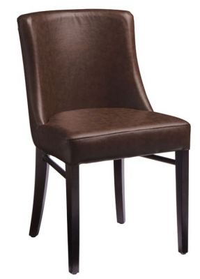Dayco Brown Leather Dining Chairs