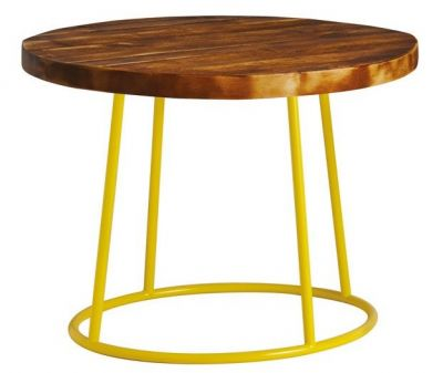 Maxo Cofee Table With A Yellow Frame