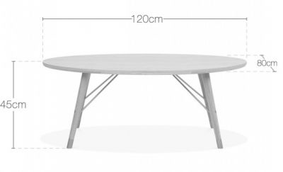 Ibis Oval Coffee Table Dims