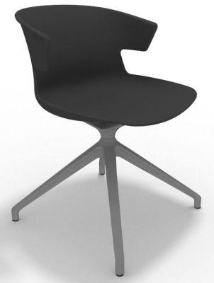 Elegante Spider Base Chair - Anthracite Aluminium