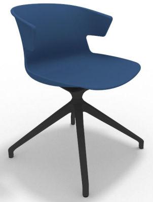 Elegante Spider Base Chair - Blue Shadow Grey