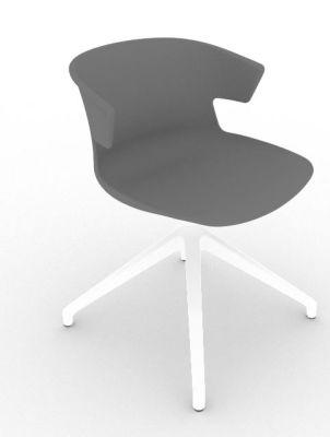 Elegante Spider Base Chair - Grey