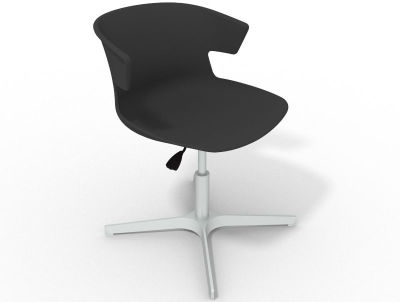 Elegante 4 Star Base Chair - Anthracite Aluminium