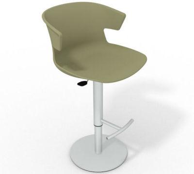 Elegante Height Adjustable Swivel Bar Stool - Green