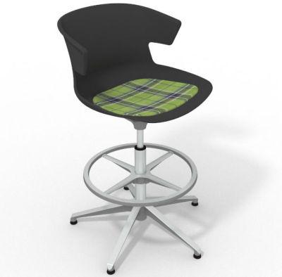 Elegante - With Feature Seat Pad Anthracite Green Aluminium