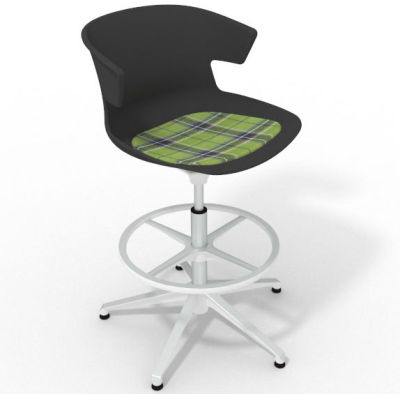 Elegante - With Feature Seat Pad Anthracite Green White
