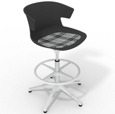 Elegante - With Feature Seat Pad Anthracite Grey White
