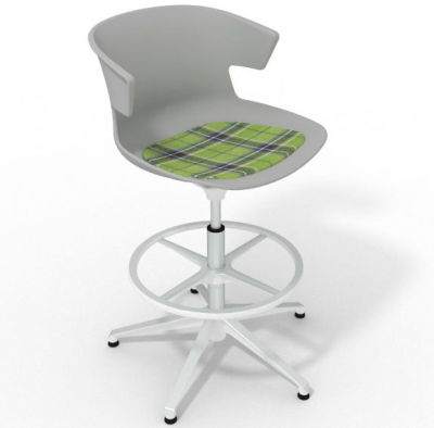 Elegante - With Feature Seat Pad Grey Green White