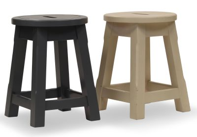 Modeno Paint Button Top Low Stools Group View