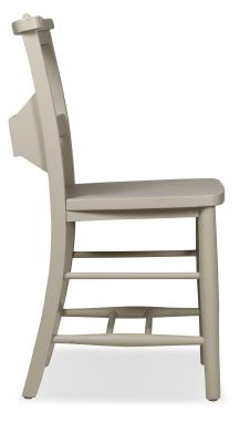 Church Dining Chair Paint Finish Side View 1