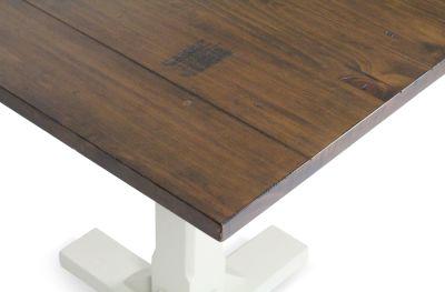 Church Chair And Table Set Table Edge Detail