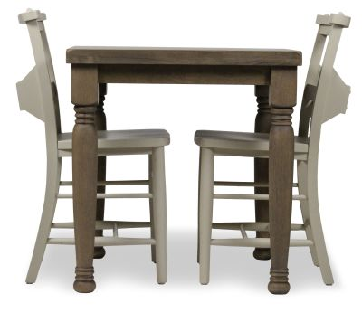 Church Dining Chair And Table Set 3 Side View Cream Chairs
