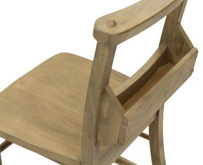 Church Dining Chair Menu Holder View
