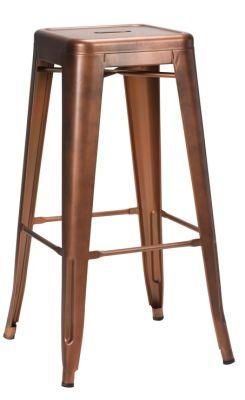 Tolix V2 High Stool In Copper