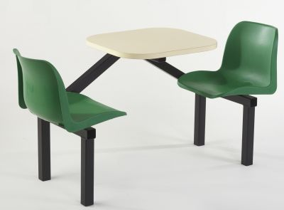 TRilogy Express Teo Seater With Green Chairs And A Cream Top