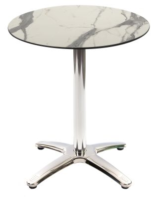 Trieste Table With A White Marble Top