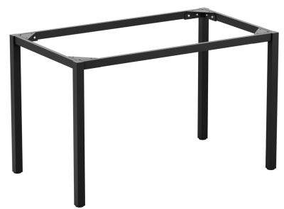 Mode Rectangular Dining Table Frame In Black