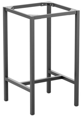 Mode Outdoor Bar Height Able Base In Dark Grey