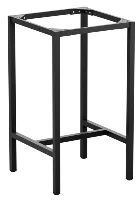 Mode Outpoor Square Bar Height Table Frame In Black