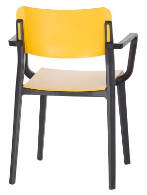 Marq Poly Armchair Rear Angle