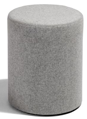 Kujo Round Stool In Grey