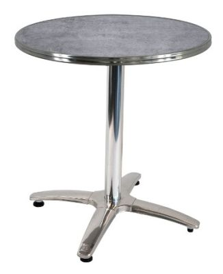 City Table With Round Bistro Ring