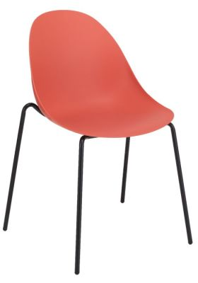 Obey Poly Chair Red