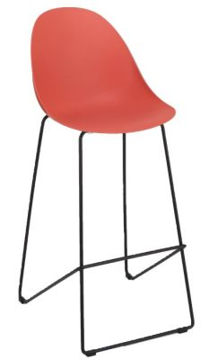 Obey High Stool Red