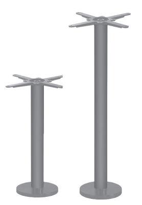 Grey Floor Fix Table Base