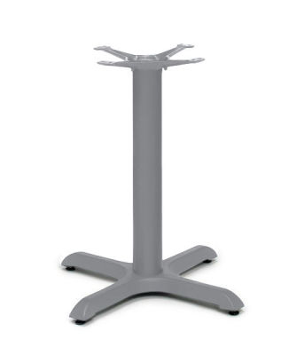 Alass Signal Grey Table Base