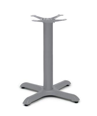 Alass Signal Grey Table Base