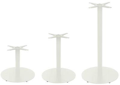 Tristy Large Round Coloured Table Base Grey White