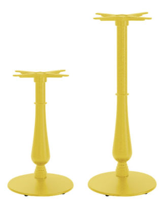 Serent Coloured Ornamental Table Bases Ivory