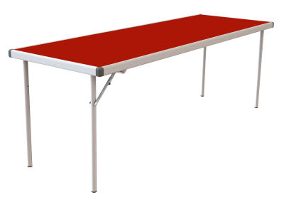 Rapid Fast Fold Table Red