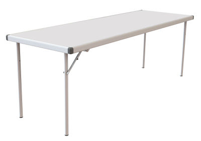 Rapid Fast Fold Table White