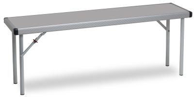 Rapid Fast Fold Bench With A Grey Top