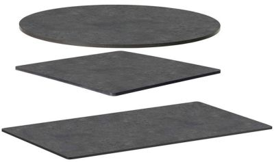 Metallic Anthracite Compact Laminate Table Tops