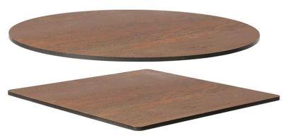 Vintage Copper Compact Laminate Table Top