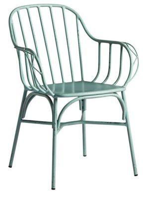Jessi Outdoor Armchair - Light Blue